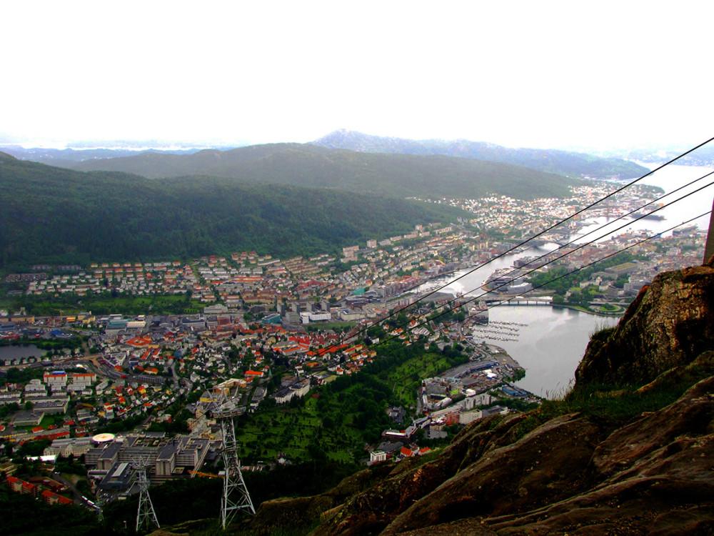 Берген, Норвегия, июль 2012
