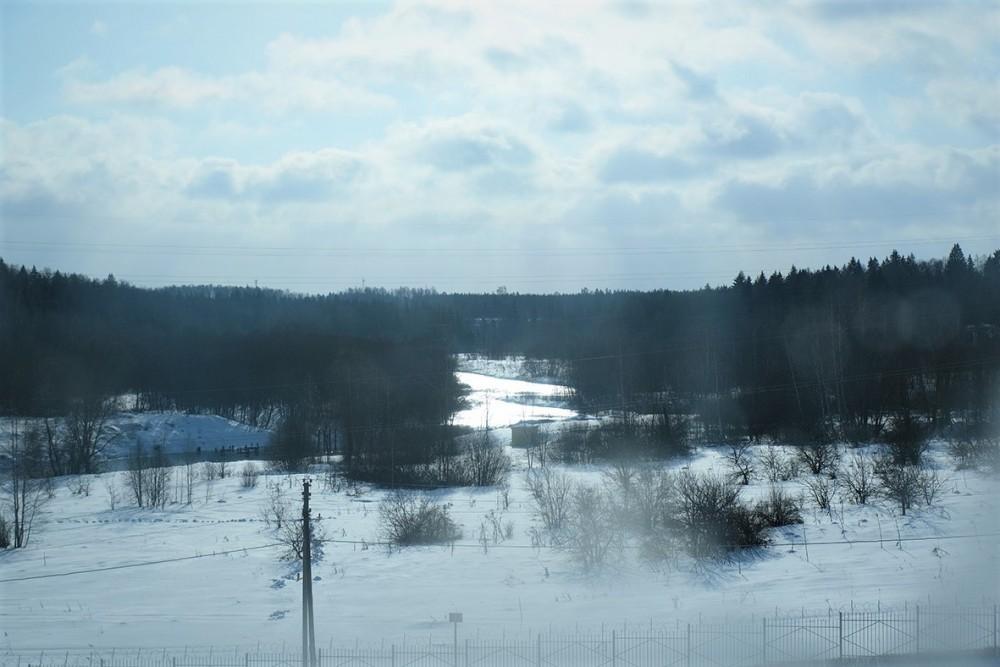 Река Озерна, впадающая в р. Рузу.