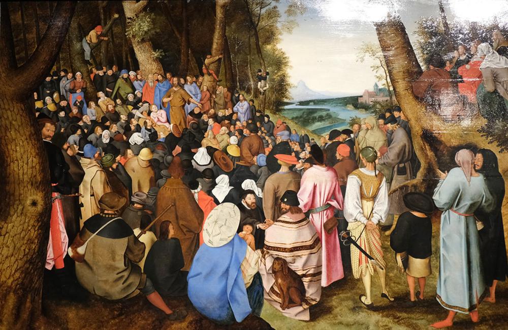2. Питер-Брейгель Младший Проповедь Святого Иоанна Крестителя в пустыне