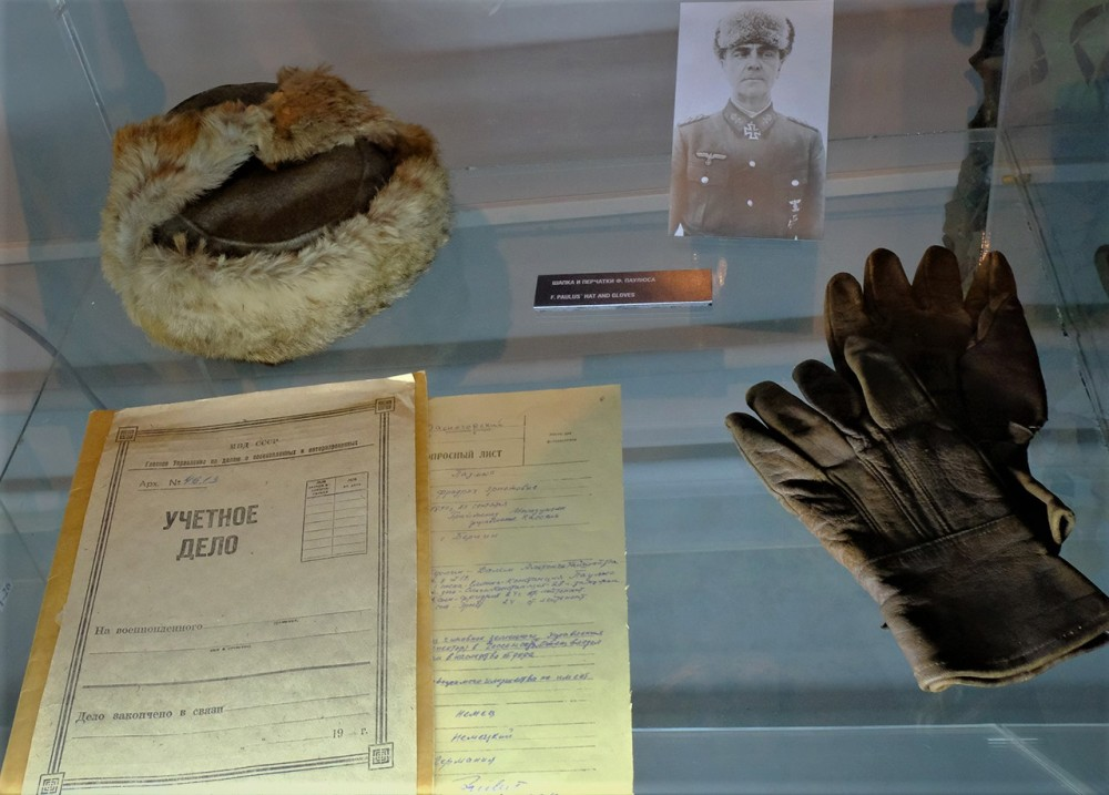 Фото 7. Личные вещи Паулюса в Музее антифашистов