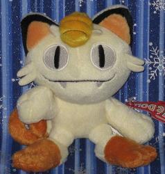Meowth pokedoll