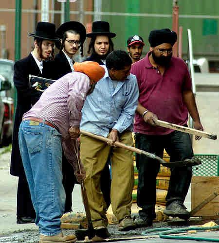 Работящие жиды