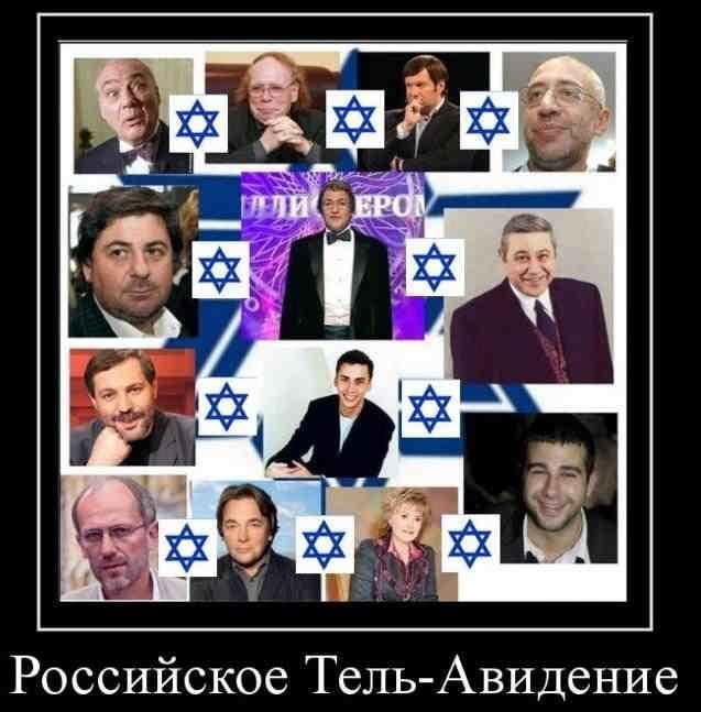 Жиды на российском ТВ