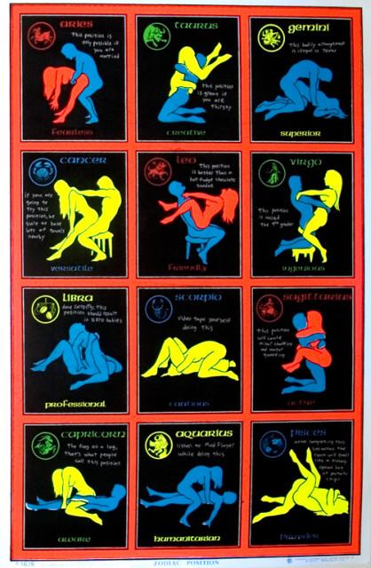 секс позы по знакам зодиака: