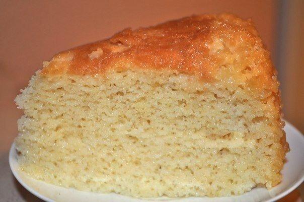 Пирог три молока рецепт с фото пошагово