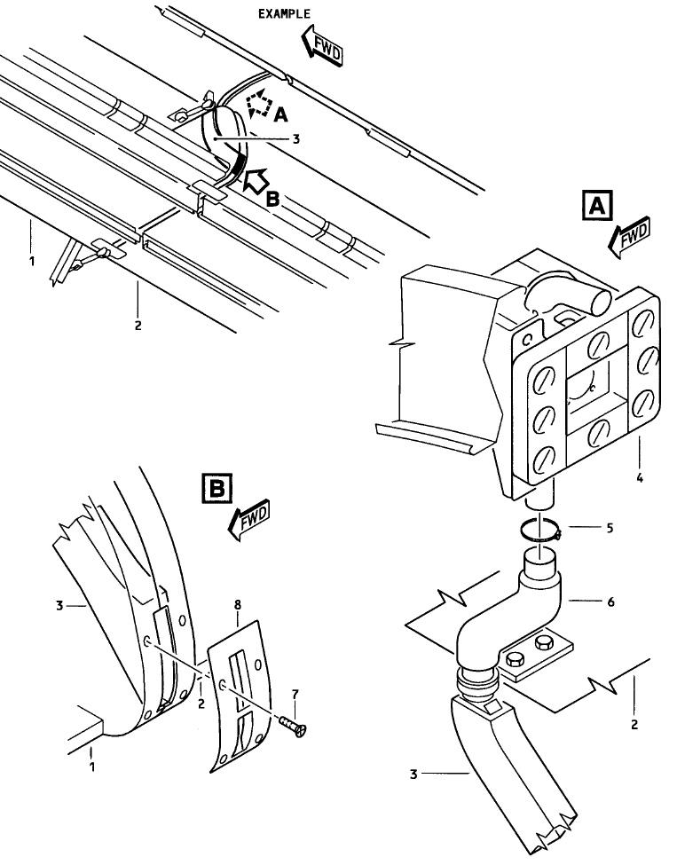 Sensor duct