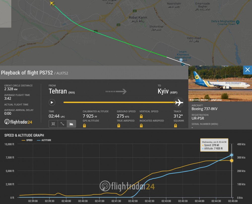Flightradar Playback
