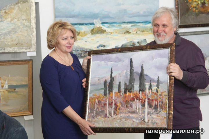 Выставка картин Александра Шуринова и Андрея Иноземцева «Под одним небом» (28)