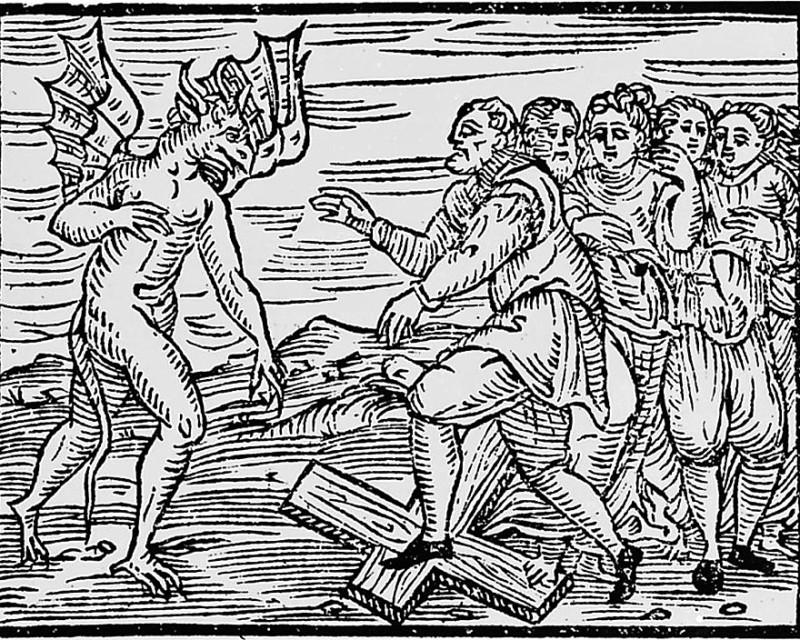 Так выглядел демон-бегемот в «Молоте ведьм»