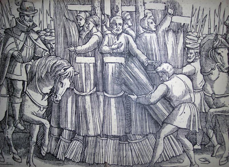 Те самые «фаготы» – вязанки дров, которые «пахнут ересью»