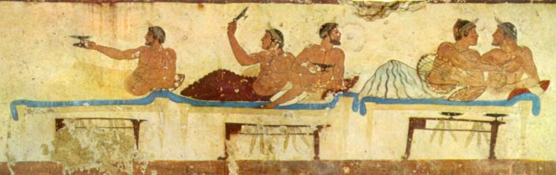 Симпозиум и игра в коттаб