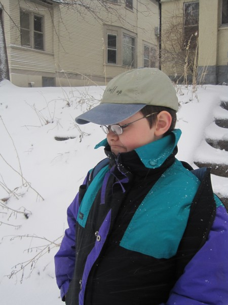 snow in April 008