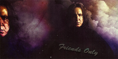 Snape Friends Only