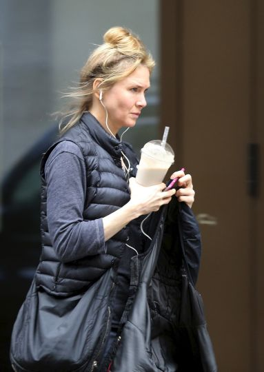 Renee Zellweger Already In London To Start Filming Bridget