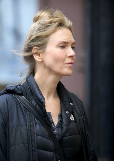 Renee Zellweger Already In London To Start Filming Bridget