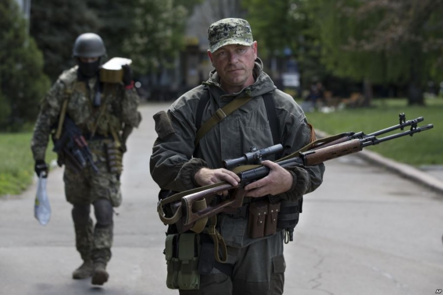 славянский снайпер