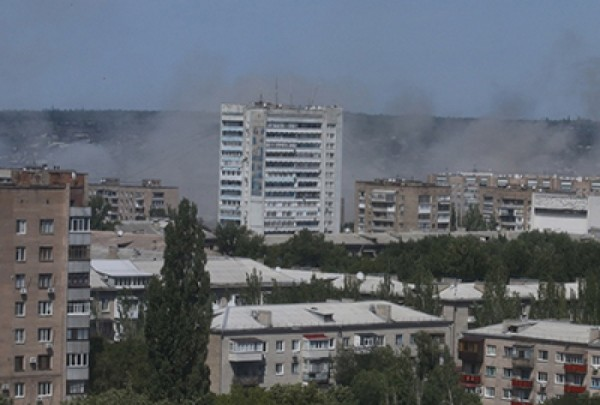 2 obstrel Donecka