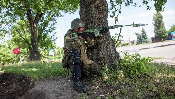 Sniper. Slavjansk
