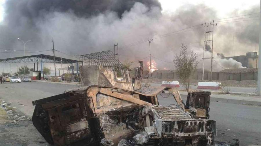 Iraq-attacco-al-consolato-a-Mosul