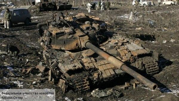 1MT-LB. 1 BMP-2. T-64