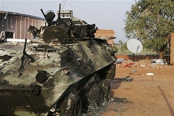APC Grizzli Crash. Nigeria