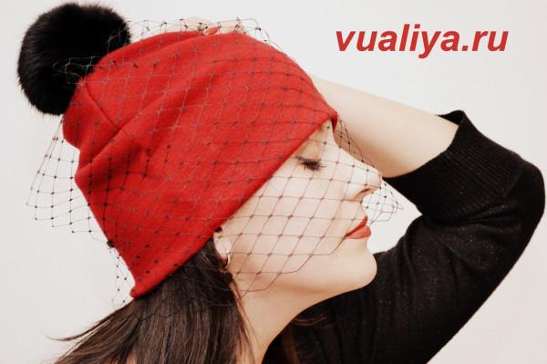 шапка с вуалью от Вуаль и Я