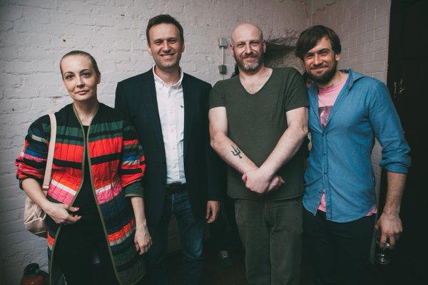 Навальный и Май