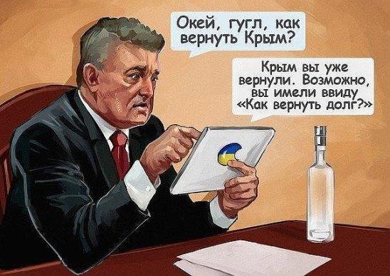 Порошенко и Крым