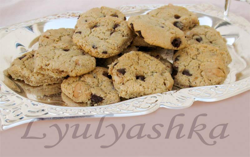 Арахисовое печенье пробы пера1-2
