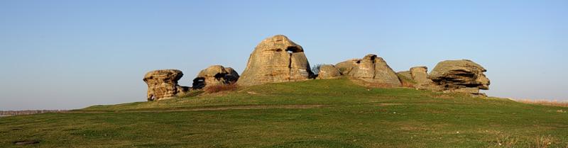 каменные палатки панорама