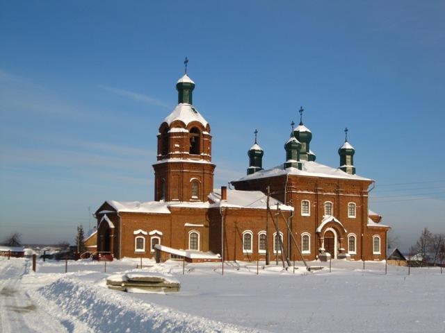 Ильинская церковь в Клеопино