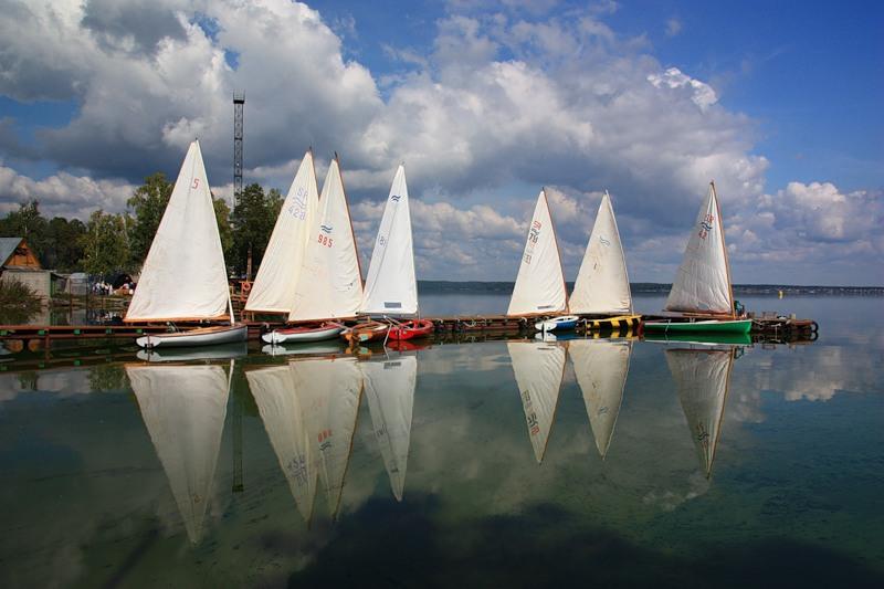 яхты на Синаре