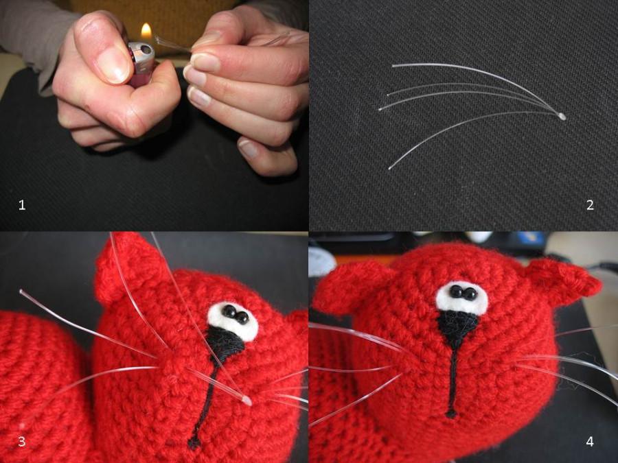 Как сделать усы кота своими руками 395