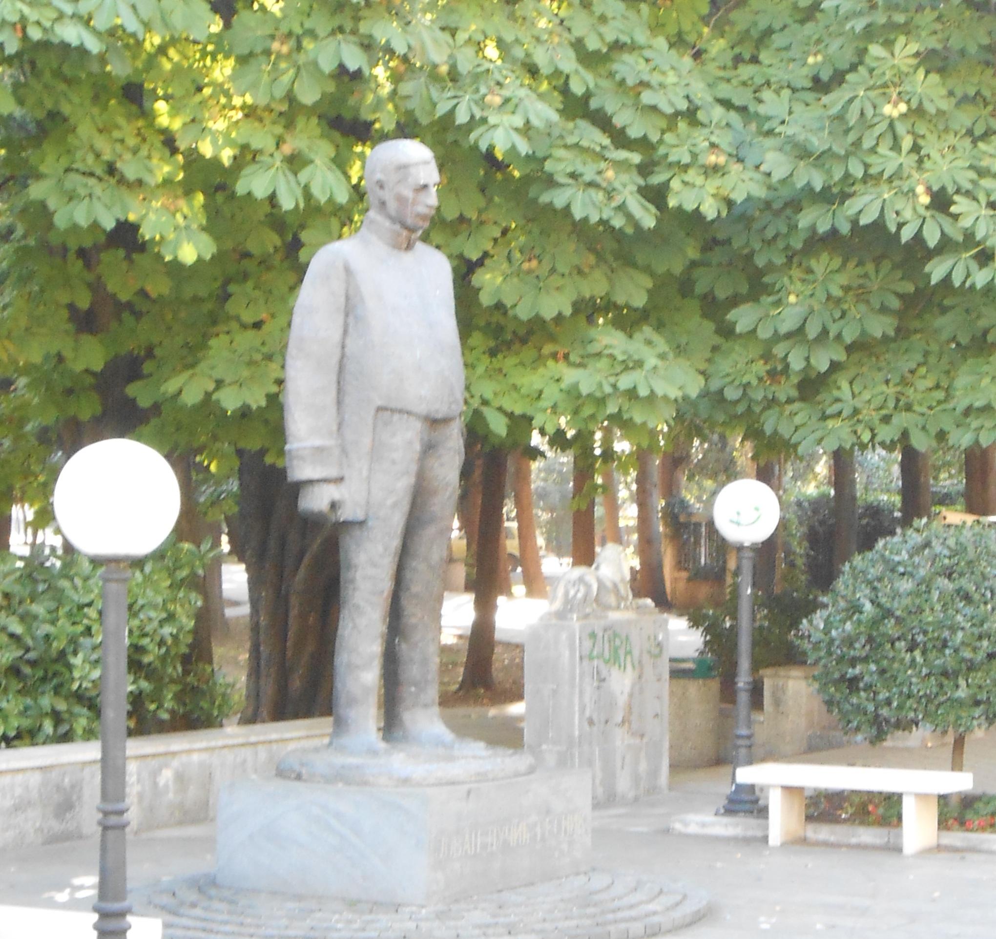 Памятник поэту Йовану Дучичу