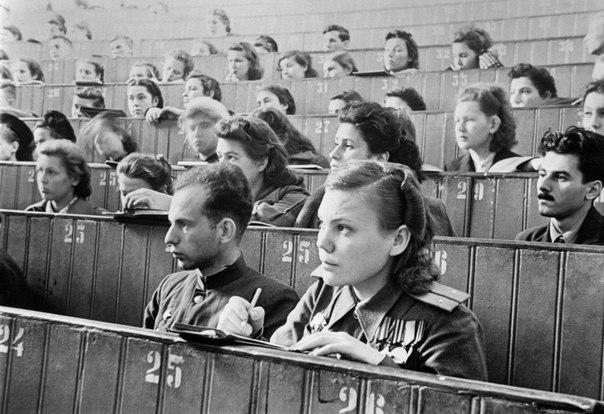 Фронтовое поколение студентов МГУ (в лицах и некоторых биографиях).