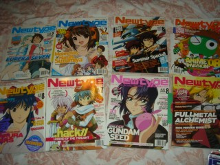 Newtype & Anime Magazines lot on eBay