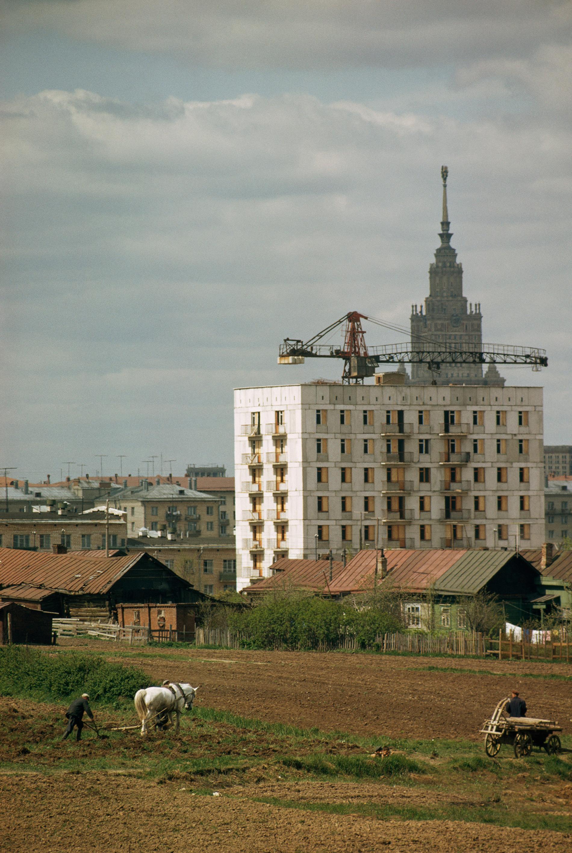 То самое Семеновское, где была сделана эта знаменитая фотография.