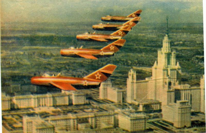 Полеты над шпилем