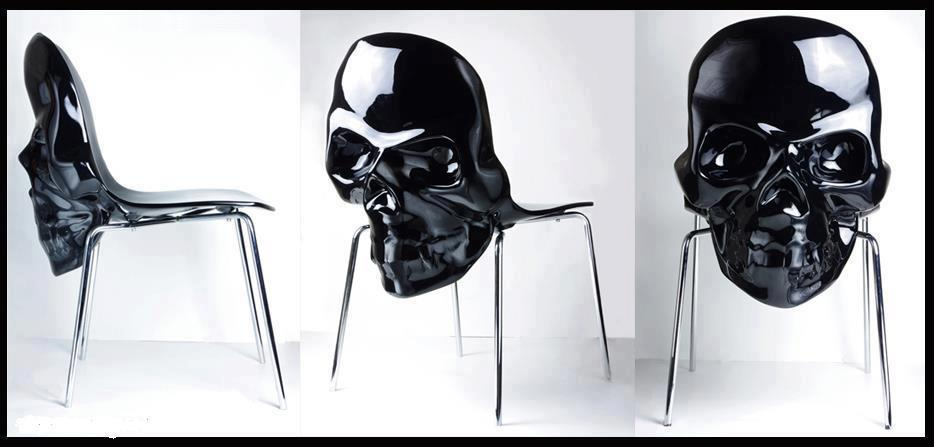 black-skull-chair