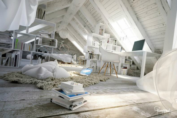 attic-contemporary-space-interior
