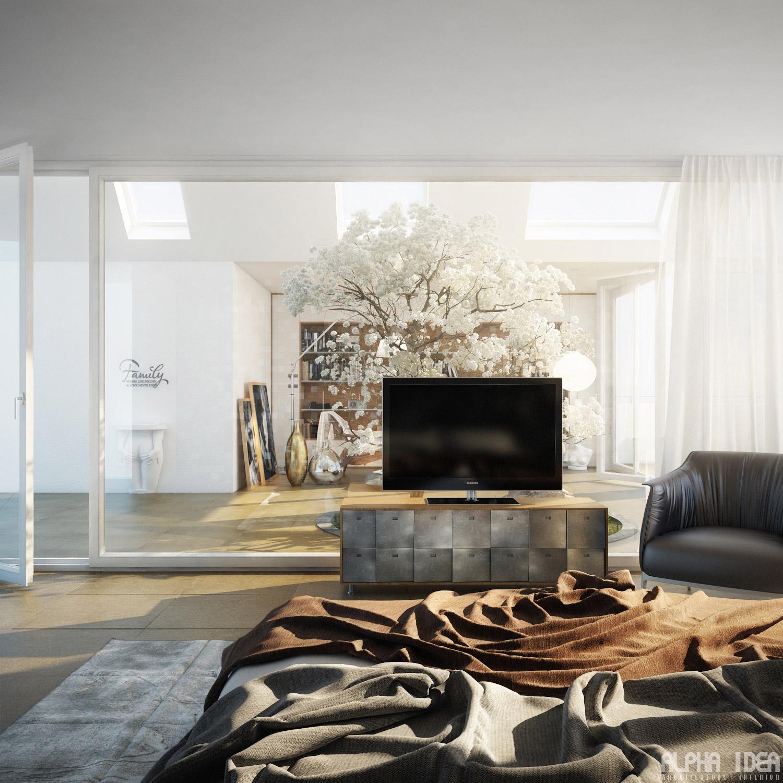 Interior-glass-wall