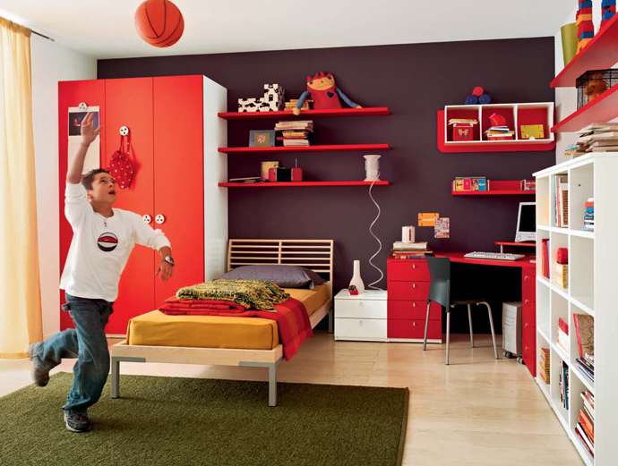 Red-Interiors-ArchitectureArtDesigns-9