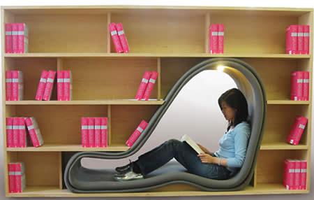 Cave-Bookshelf