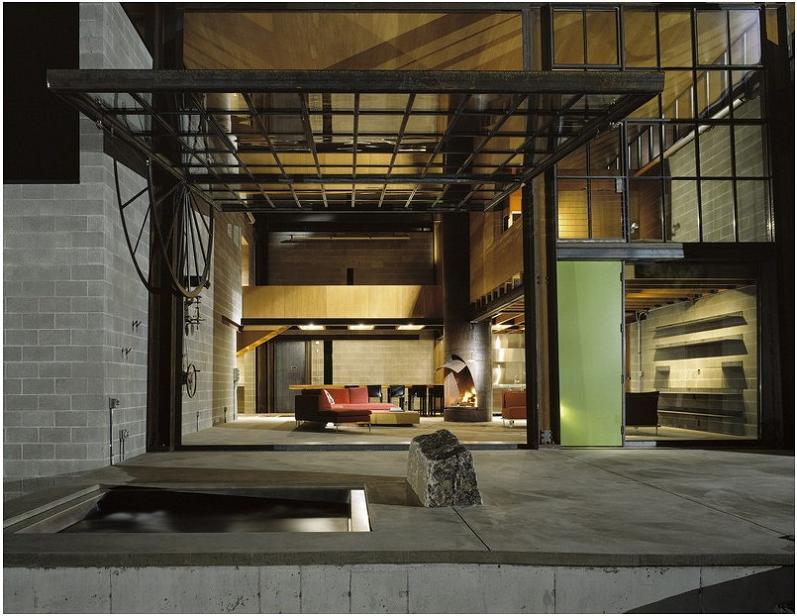 industrial-chic-modern-cabin