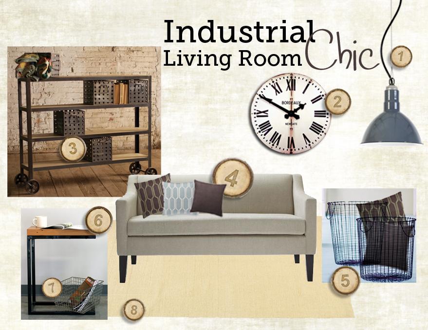 LivingRoomIndustrialChic