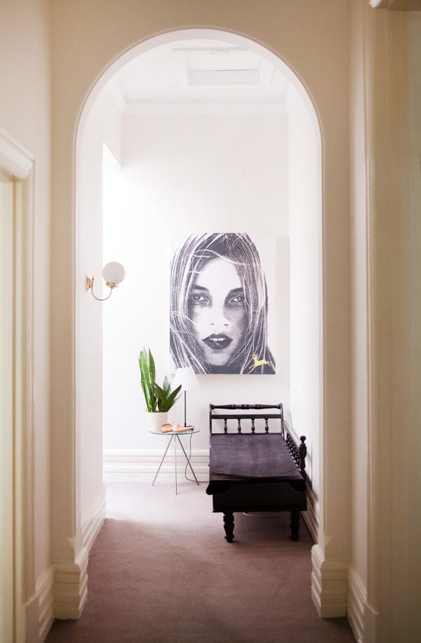 Garth-hallway