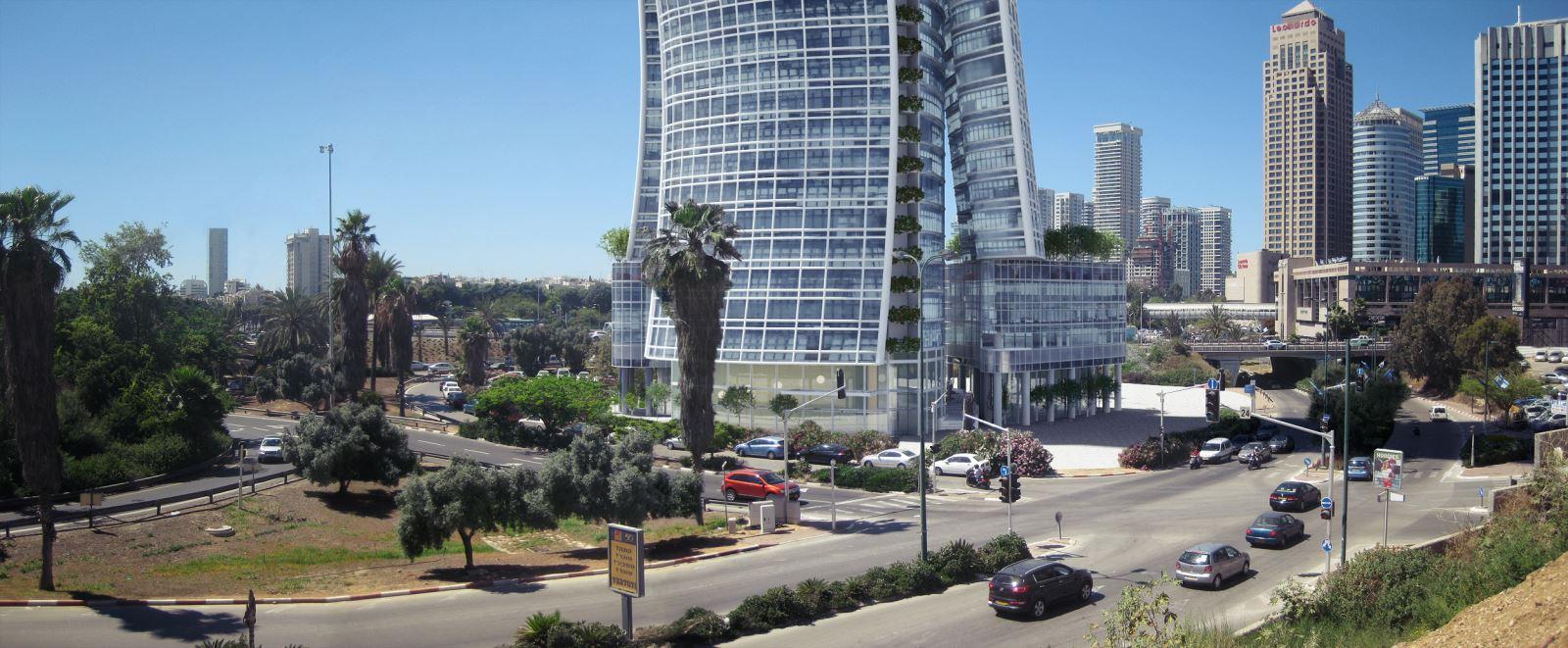 проекты новых небоскребов в израиле фото напоминают
