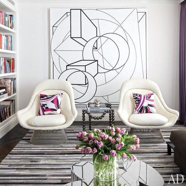 item2.rendition.slideshowWideVertical.delphine-krakoff-new-york-city-07-living-room-knoll-chairs-warren-platner-painting