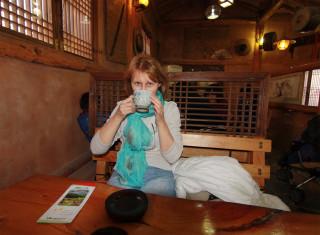 Чайный Домик и земляничный чай