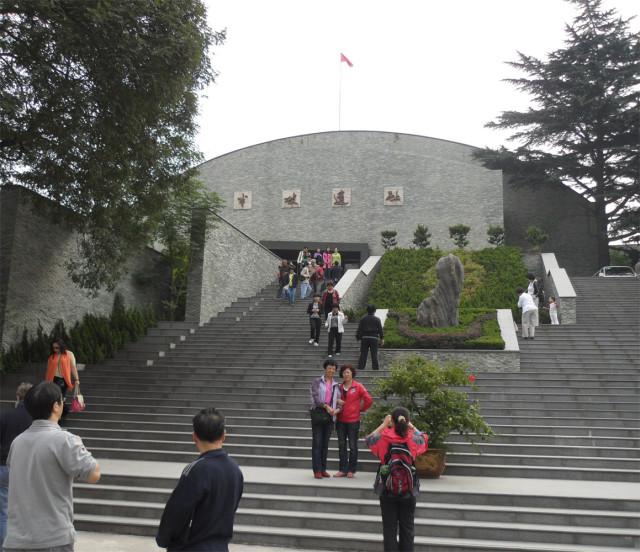 Перед входом в Банпо музей